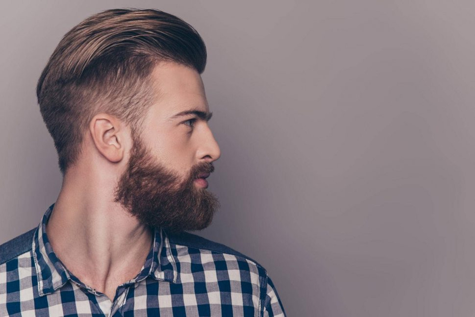 Hairstyle With Beard – Modern Design Ideas