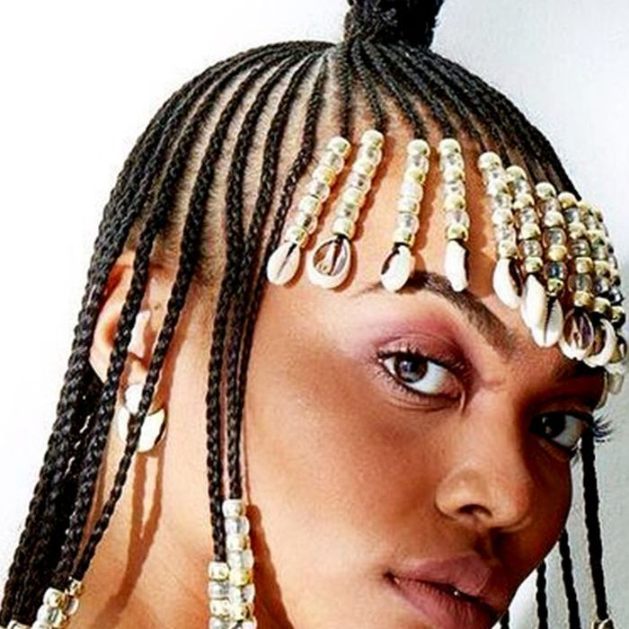 Hairstyles With Beads Can Be Very Trendy
