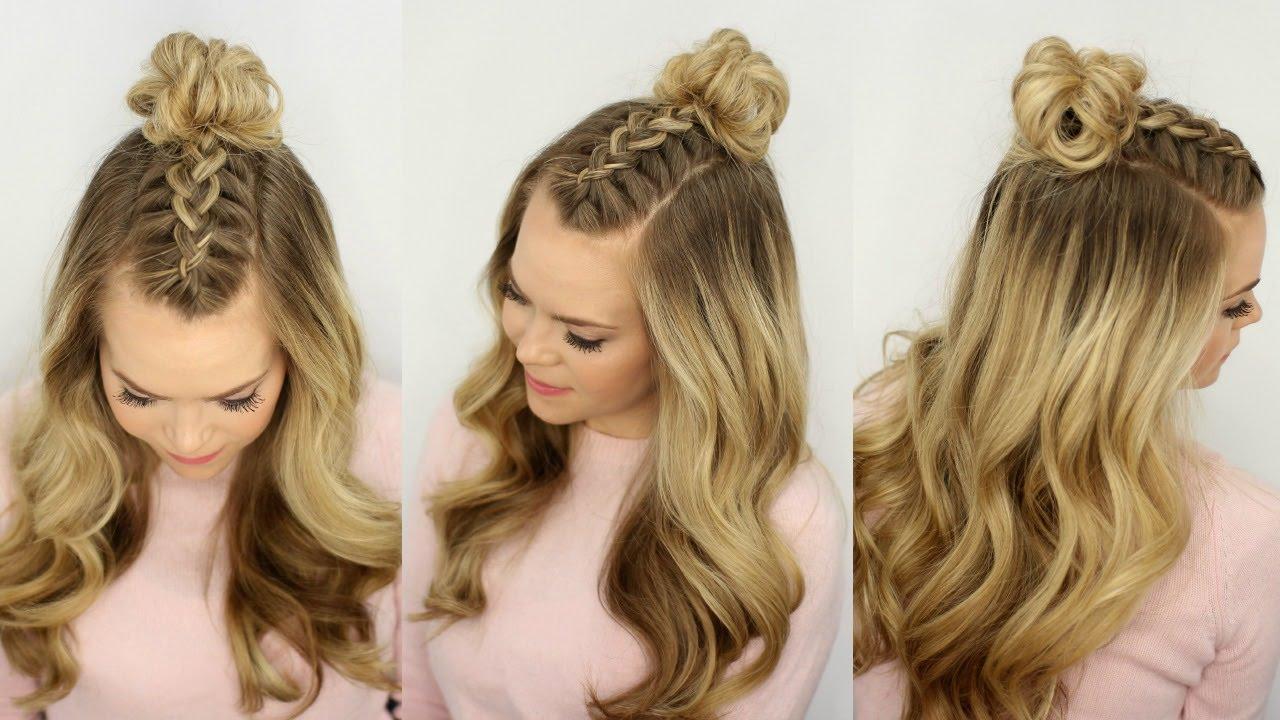 Best Design – Half Braided Hairstyles