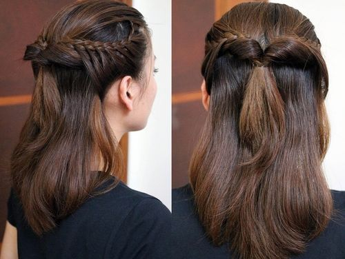 Half Braided Hairstyles – Trendy and Inexpensive
