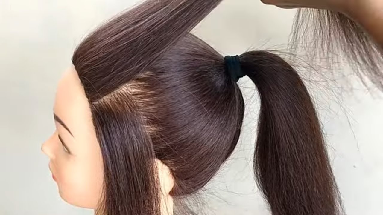 High ponytail hairstyles in 2021