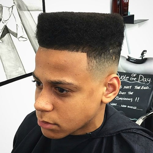 High Top Haircut Design Ideas