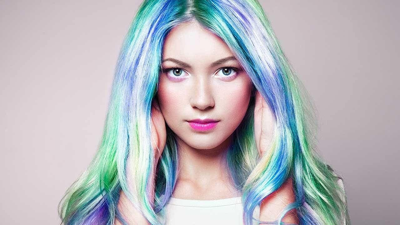 Hair Color Holographic Transformations – Modern Design Ideas