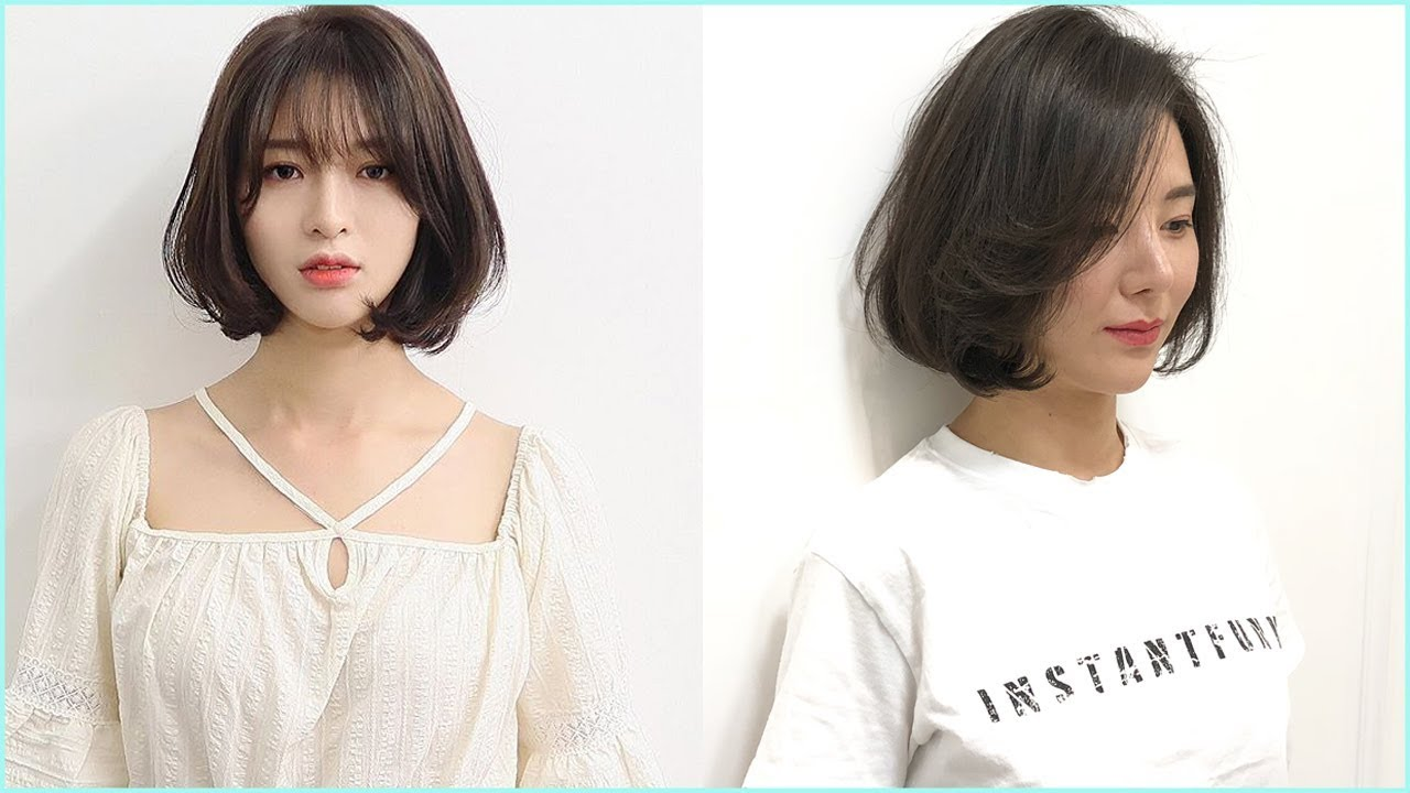 Trendy New Korean Short Hairstyle
