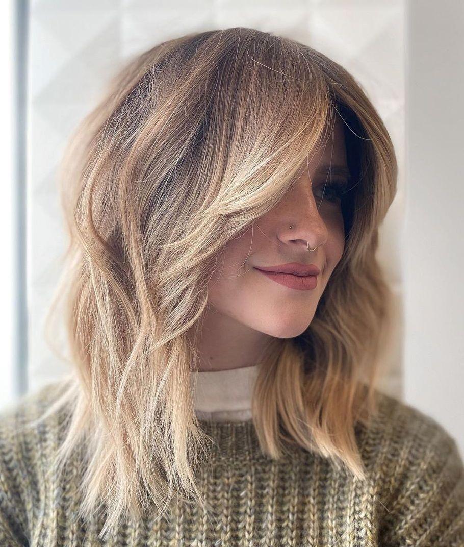 Best layered hair front Design ideas for women