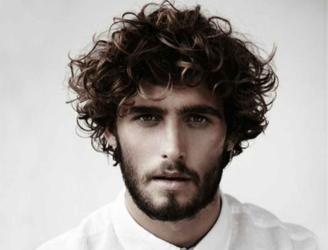 Latest Model Trends for Male Curly Hairstyles
