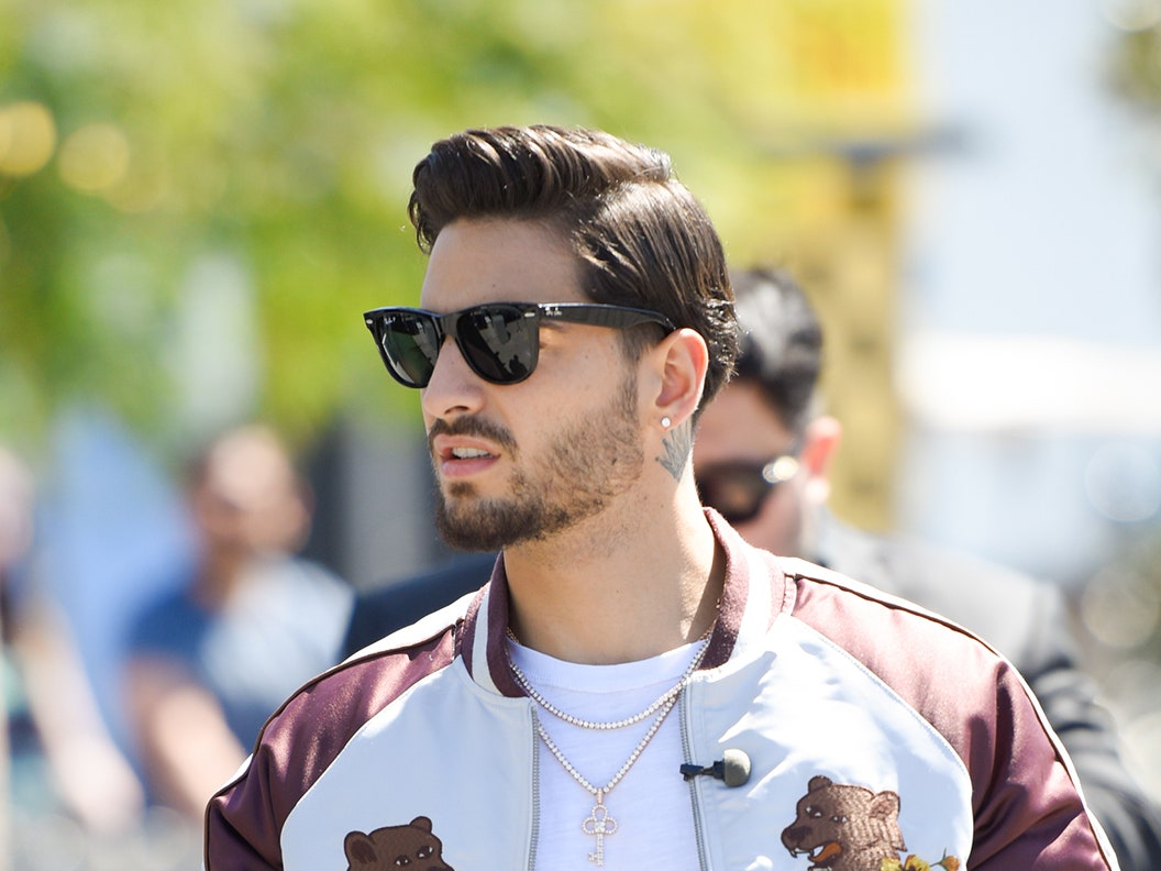 the best Maluma Long Hair Styles design ideas