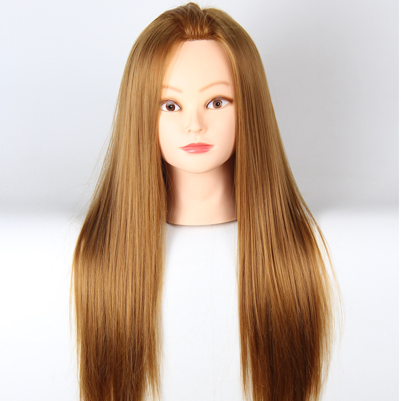 Cosmetology Mannequin Head With Hair