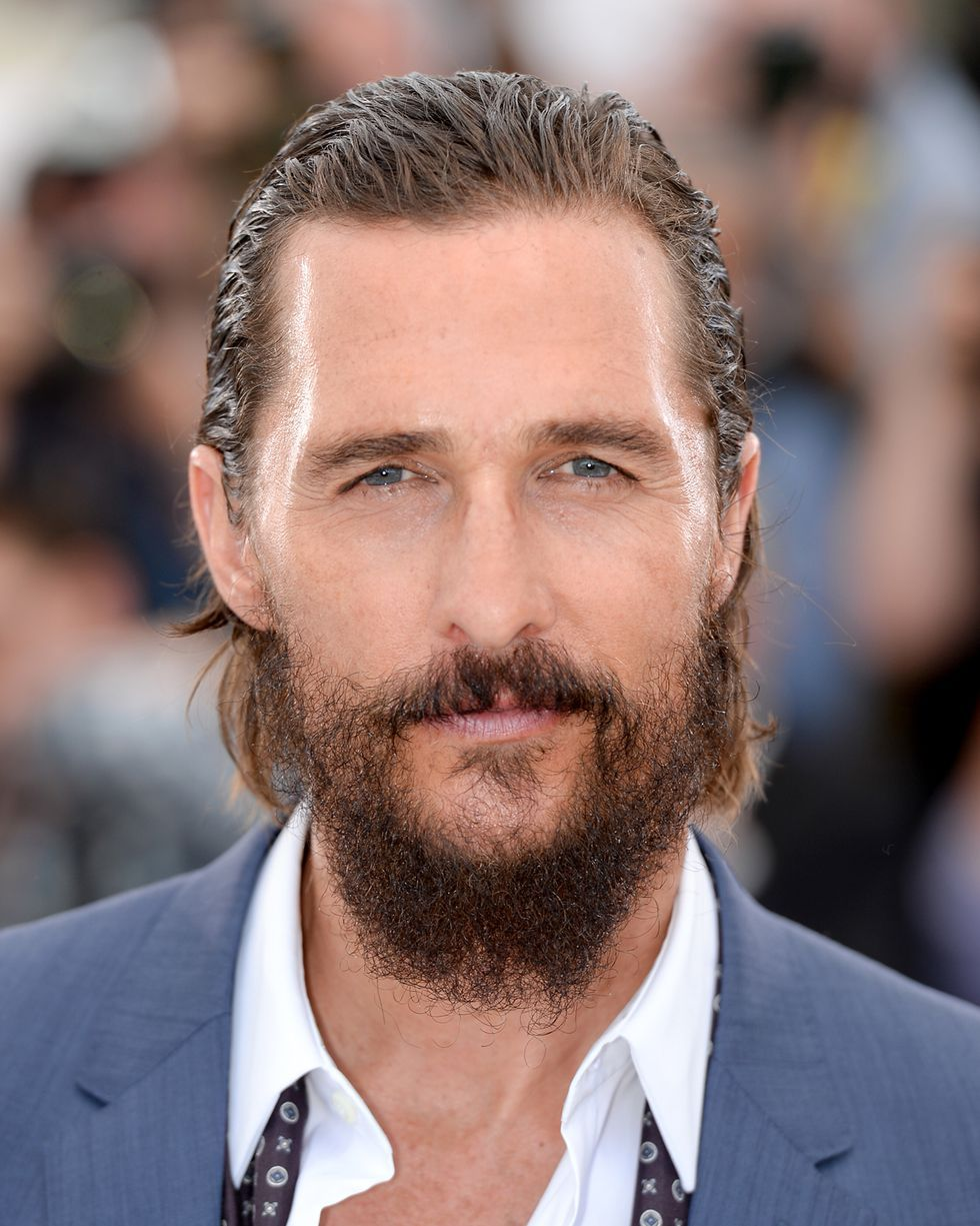 Matthew McConaughey Hair Ideas