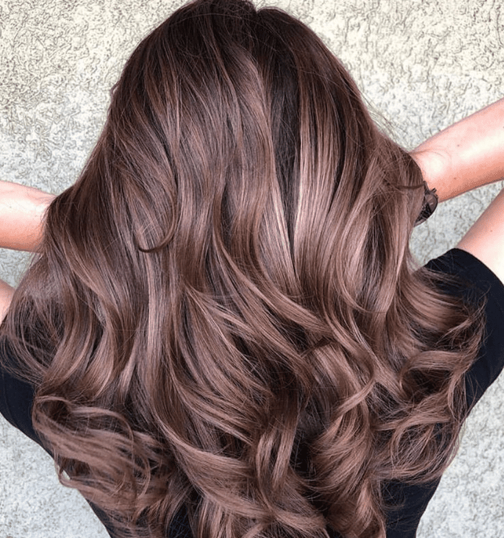 Mauve Hair Color For Summer