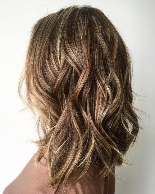 Real Medium long hairstyles