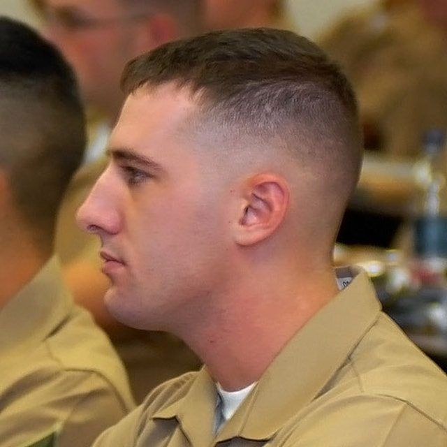 Short But Stylish – Navy Haircut Model Ideas