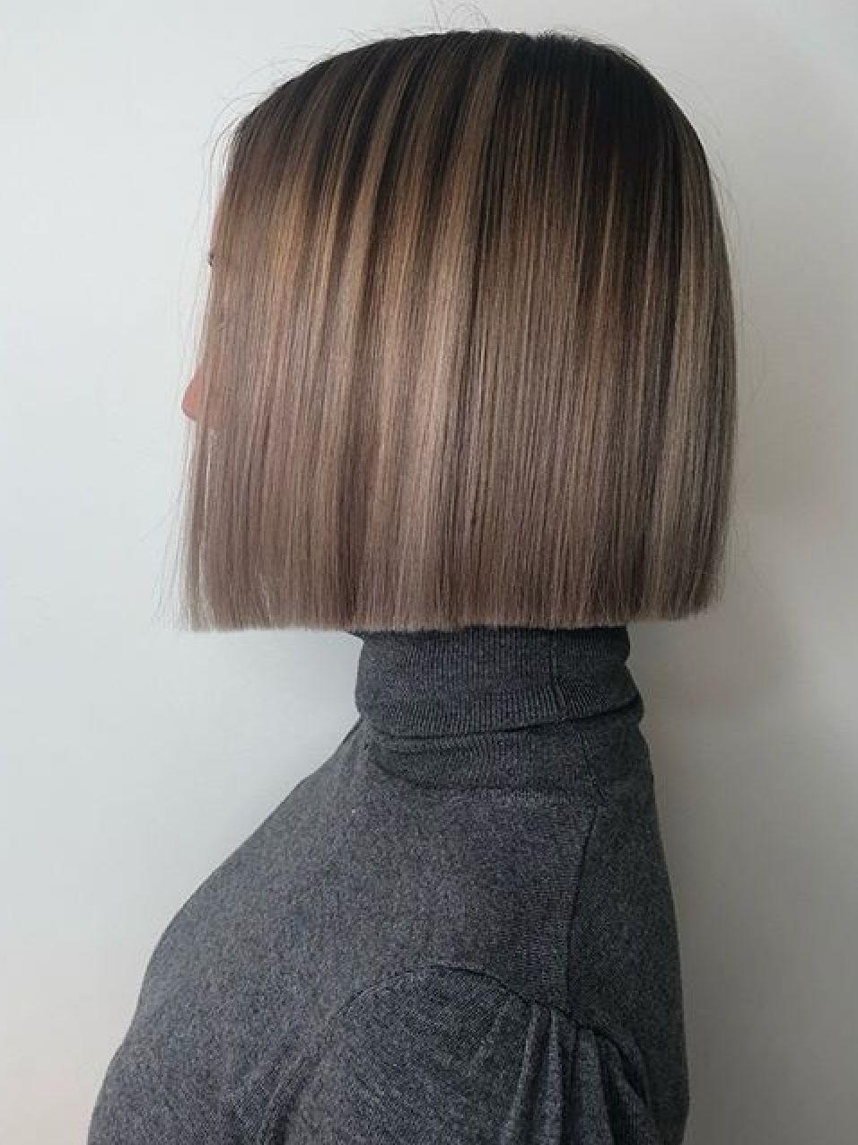 One Length Hair Model Ideas