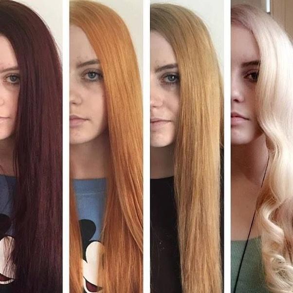 Orange Blonde With Black Hair Trend – designs for 2021