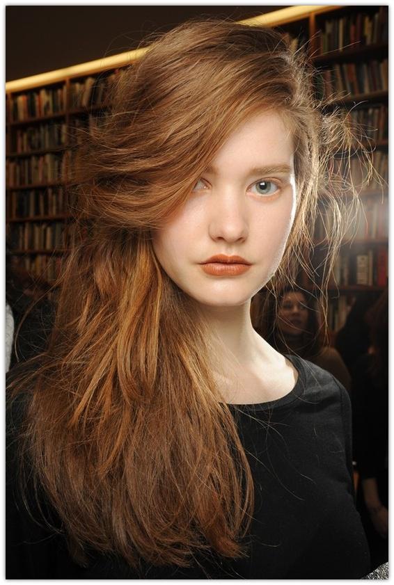 Best Design Parted Hair