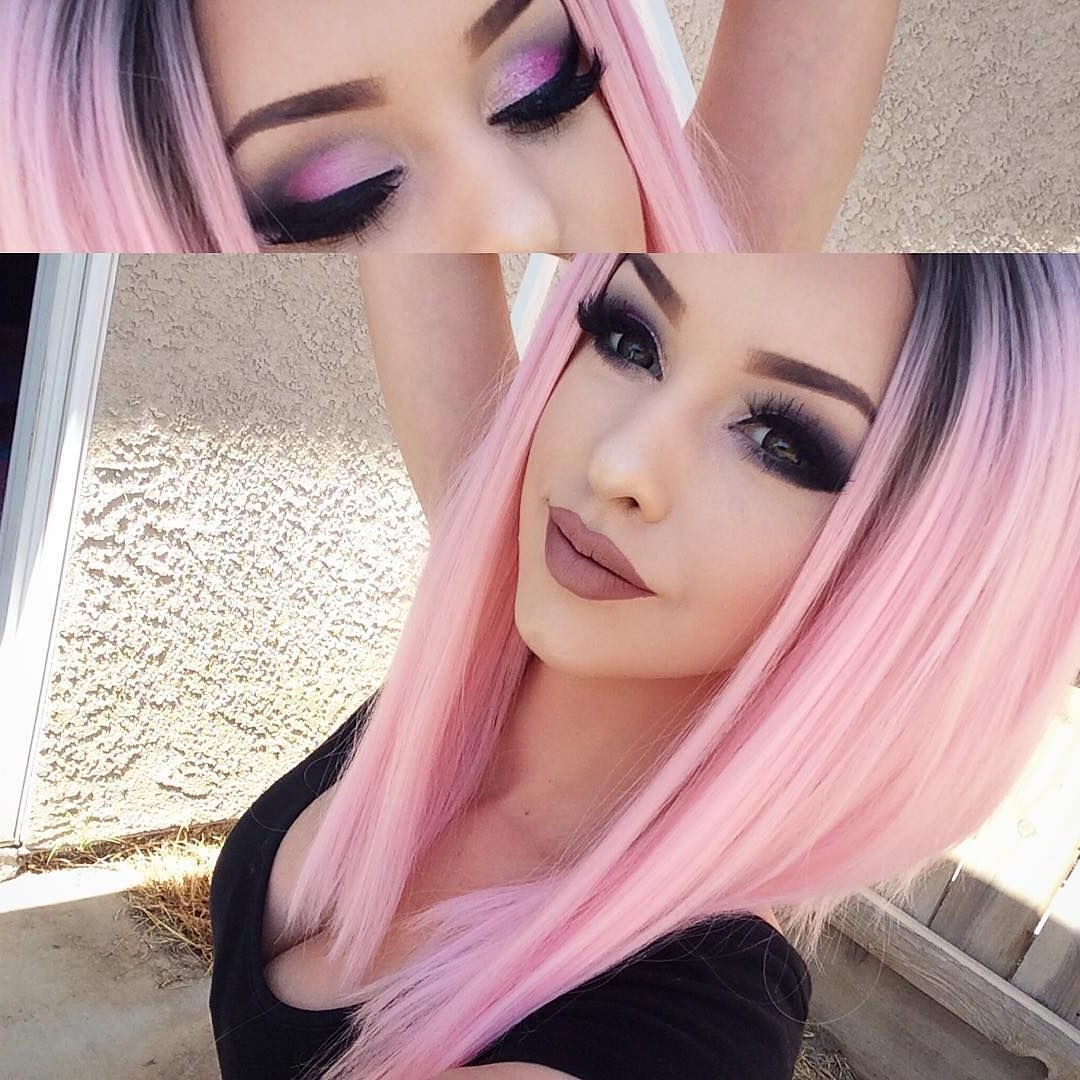 Pastel Hair Colors – Creates an Old-Fashioned Look