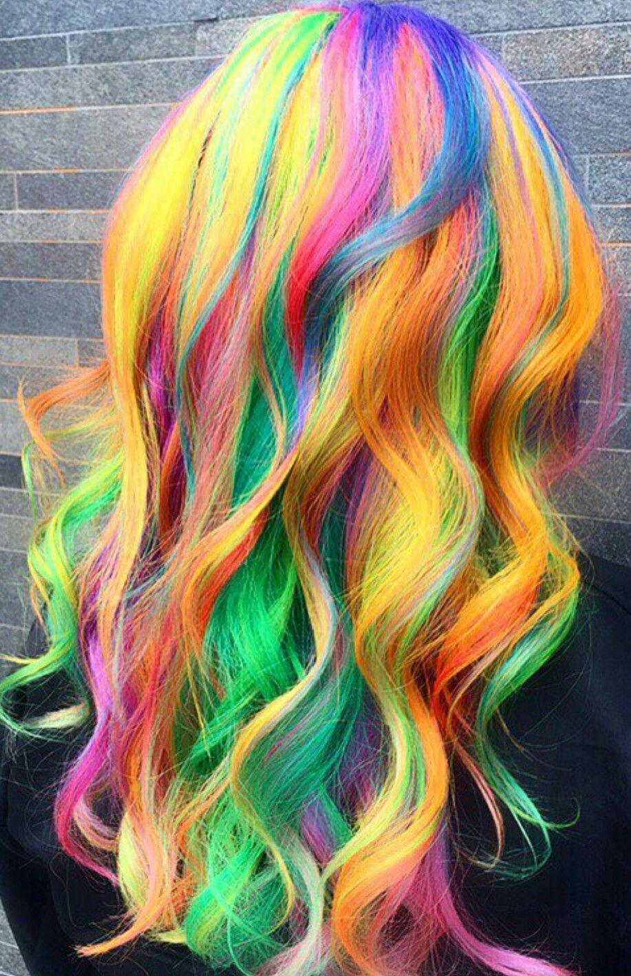 How To Create Soft Pastel Rainbow Hair