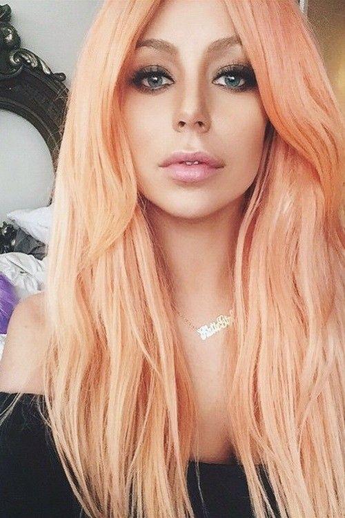 Best Style – Peach Hair!
