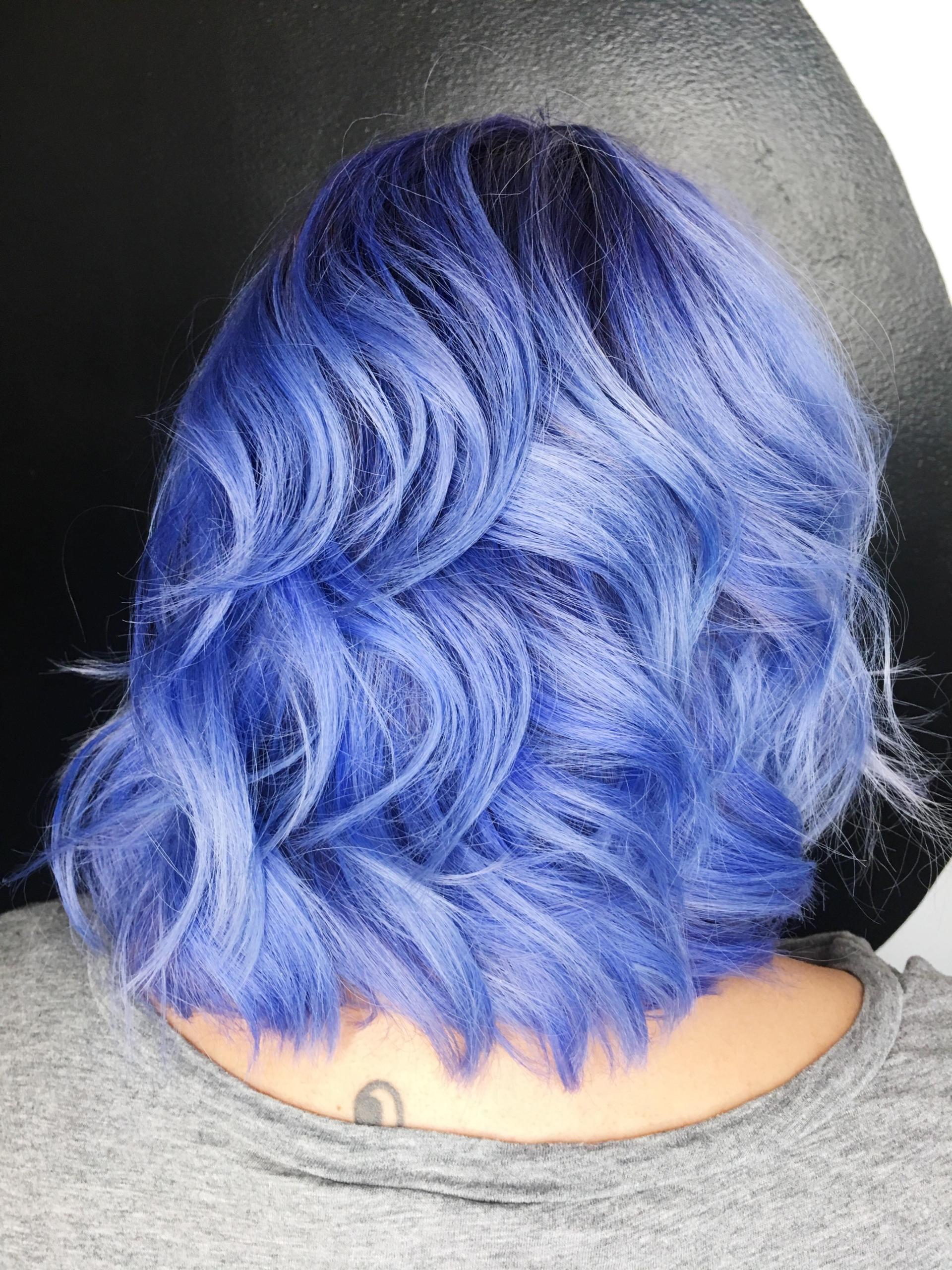 Latest Model – Periwinkle Hair