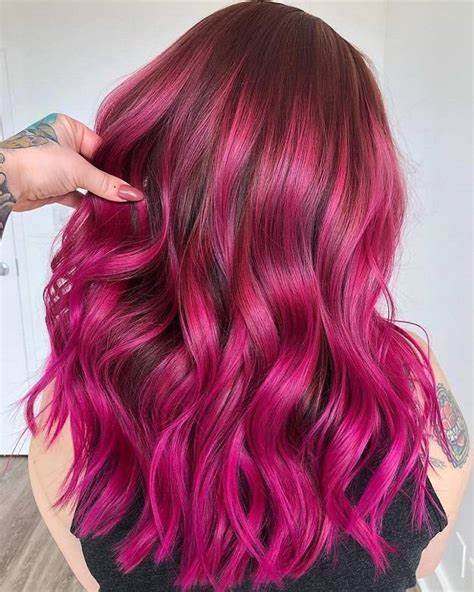 Latest Design Trend – Wears Pink Brown Hair Today