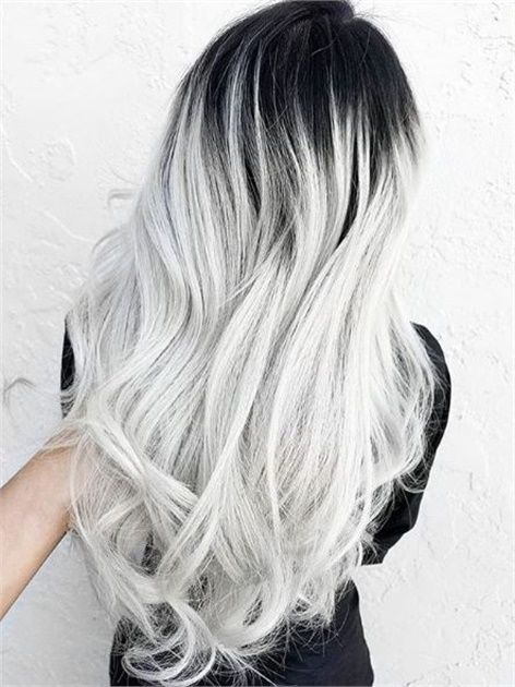 Model Ideas for Platinum Grey Hair