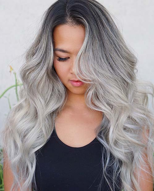 Latest Trends in Platinum Silver Hair Styles