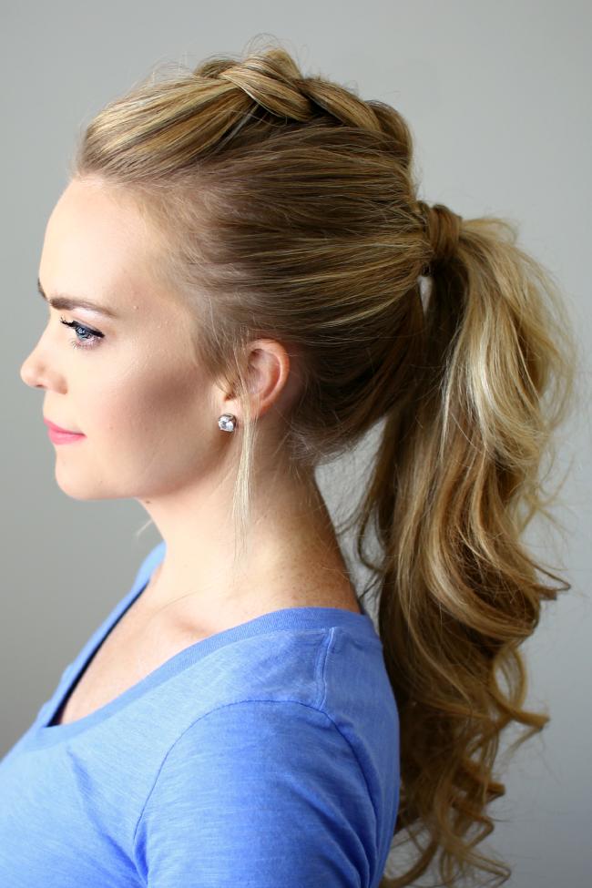 Ponytail Hair Design Ideas