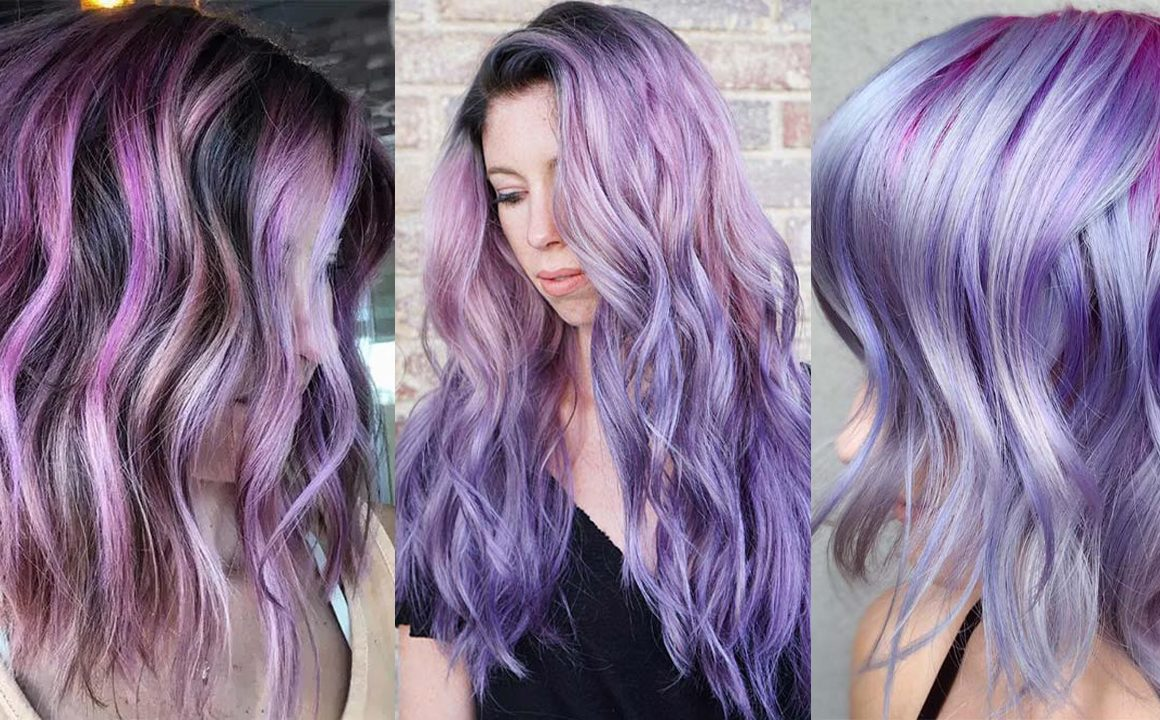 Hair Color Ideas For Purple Hair