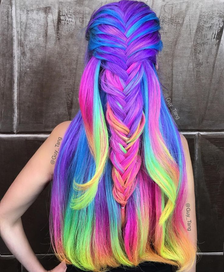 Rainbow Hair Color Trends – Inspiration for Your Next Color Swapping Party!