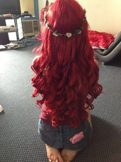 Red hair Extension Ideas for Redheads
