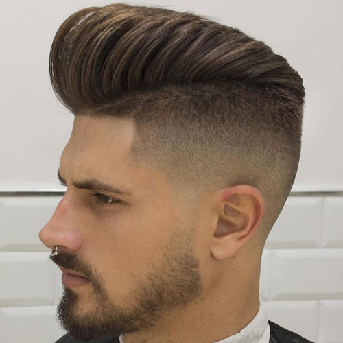 Fashionable Side Fade Haircut