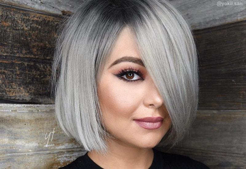 Trendy Silver Gray Hair