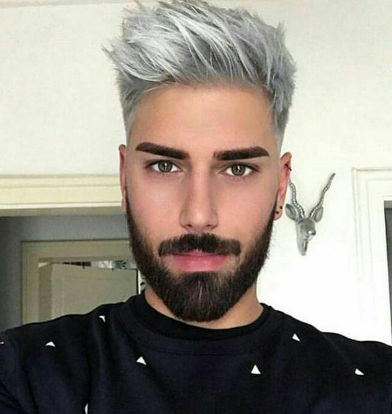 Impressive Silver Hair Guy