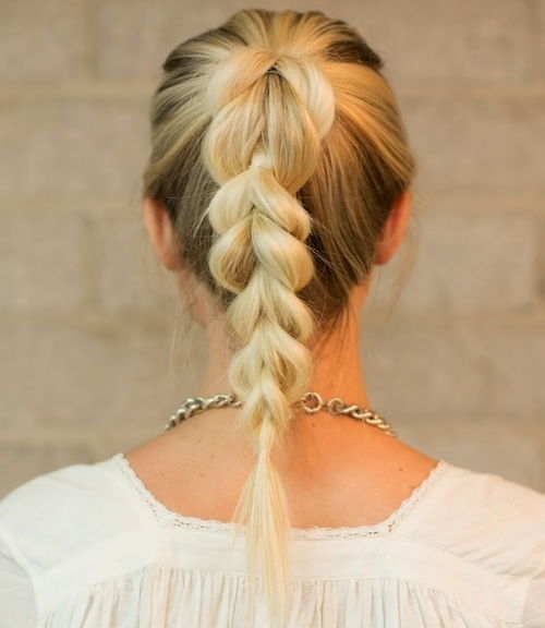 Some Simple Braided Hairstyles