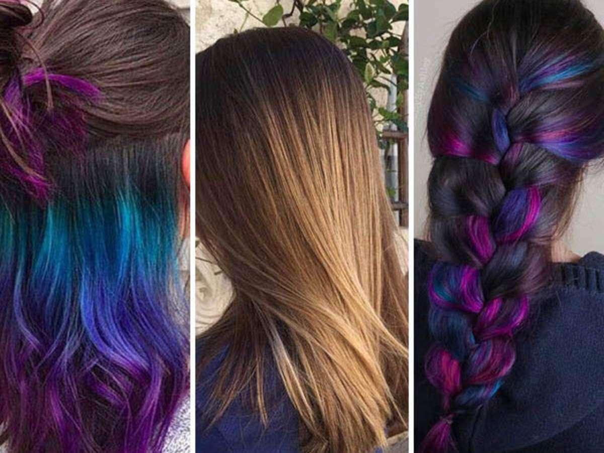 Great Underneath Hair Color Ideas