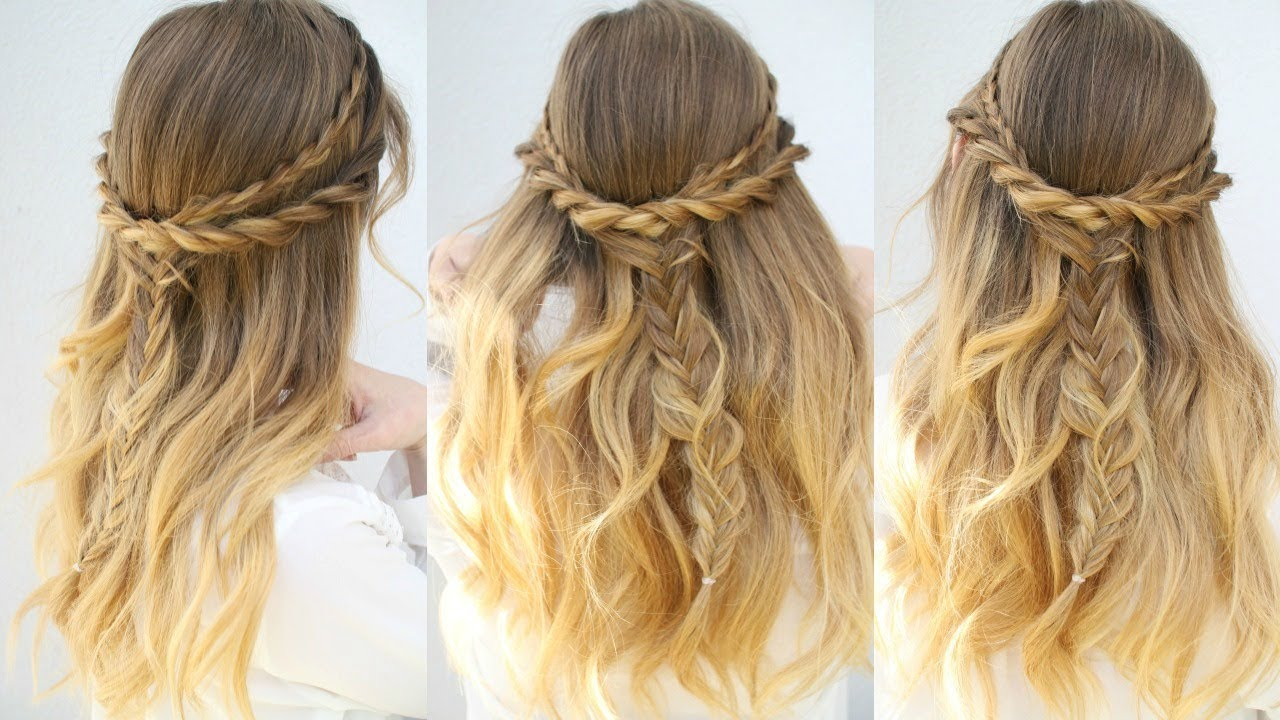 Up Down Hairstyles – The Latest in Hair Styling