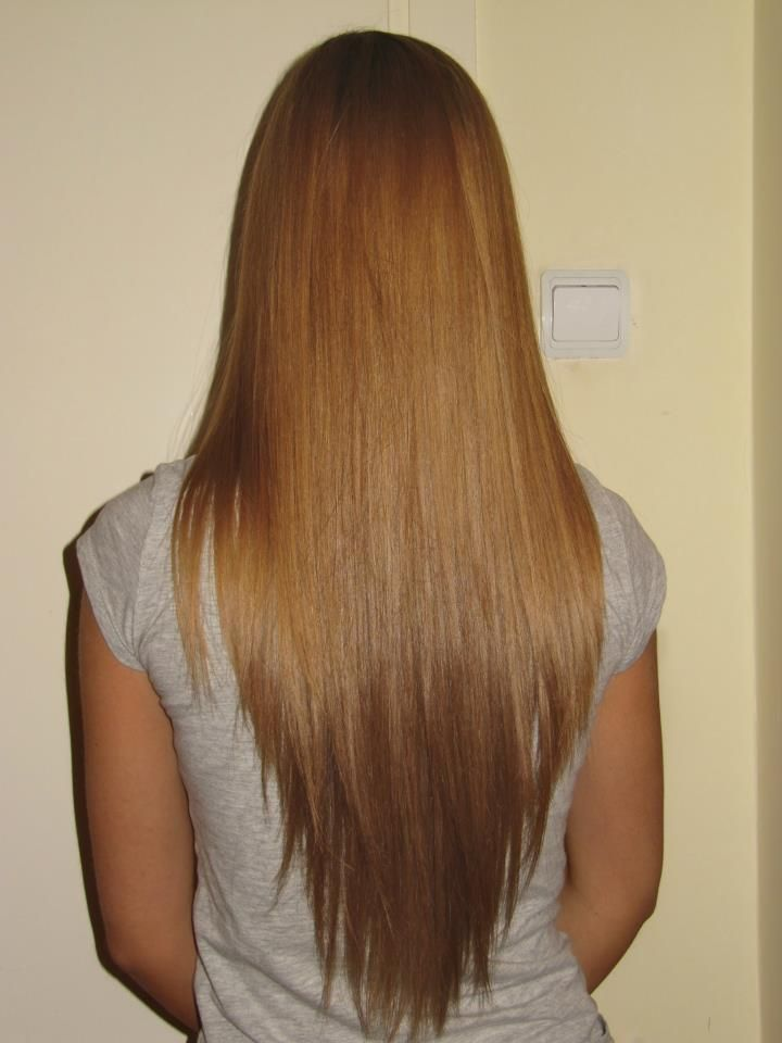 How to Make Yourself Look Slimmer With These Beautiful Pattern for the V Shape Hair Cut
