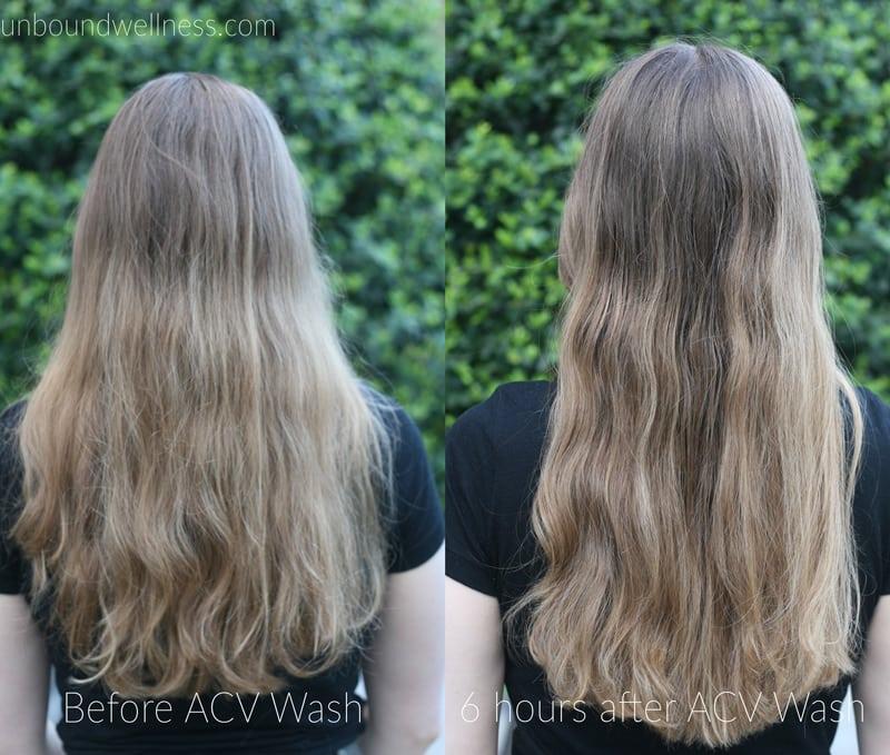 Model Ideas – Using Apple Cider Vinegar Hair Rinse