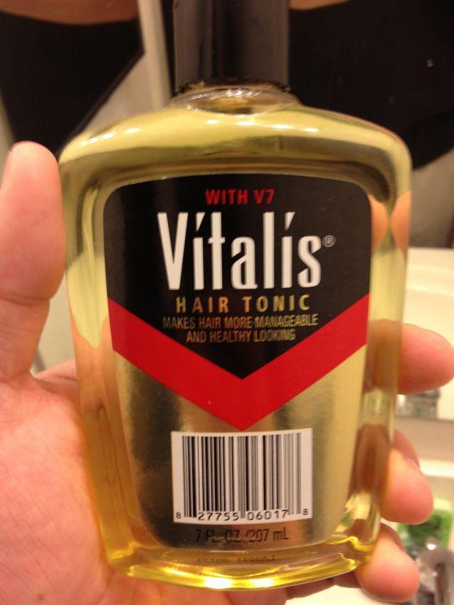 Latest Style Trend – Vitalis Hair Tonic