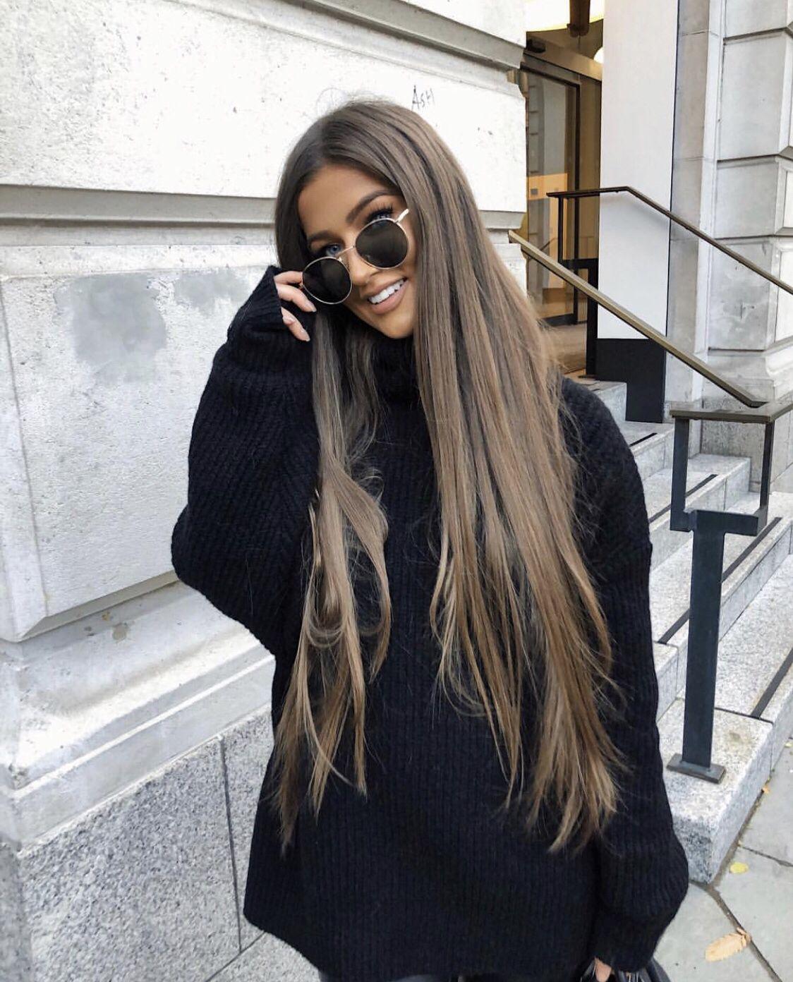 Waist Length Hair Model Ideas