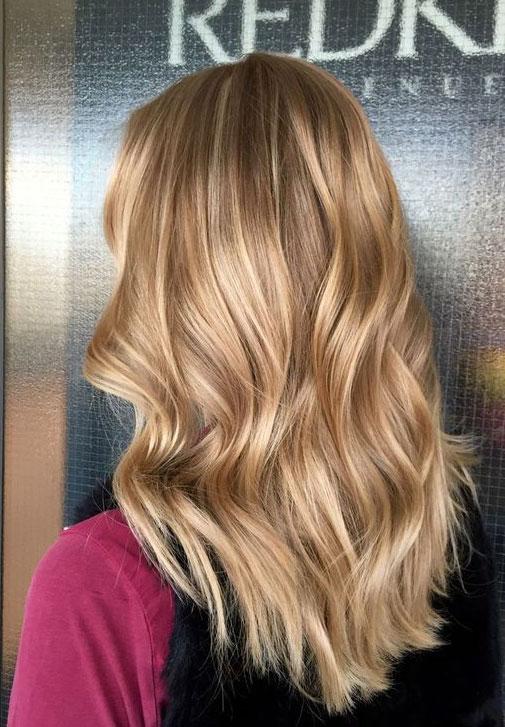Warm Blonde Hair Design