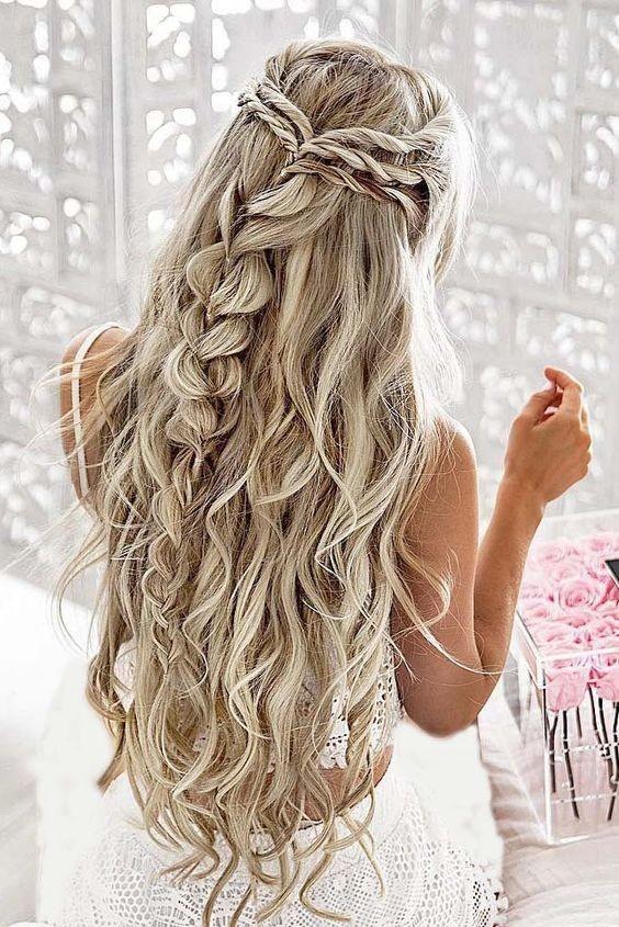 Unique Wedding Braid Hairstyles