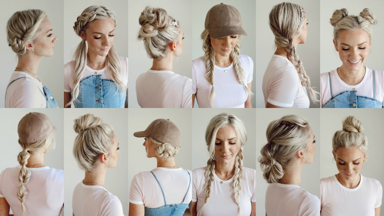 Workout Hairstyles for Girls