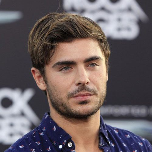 Modern Design – Zac Effron HairStyle Ideas