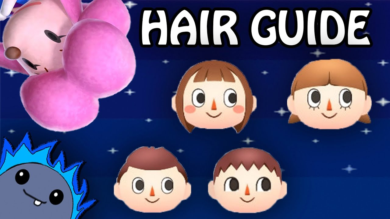 Animal Crossing Hair Guide For Color
