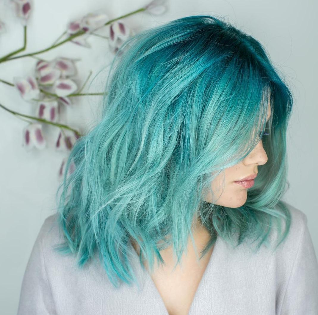 Latest Aqua Hair Model Trends on the Market Today