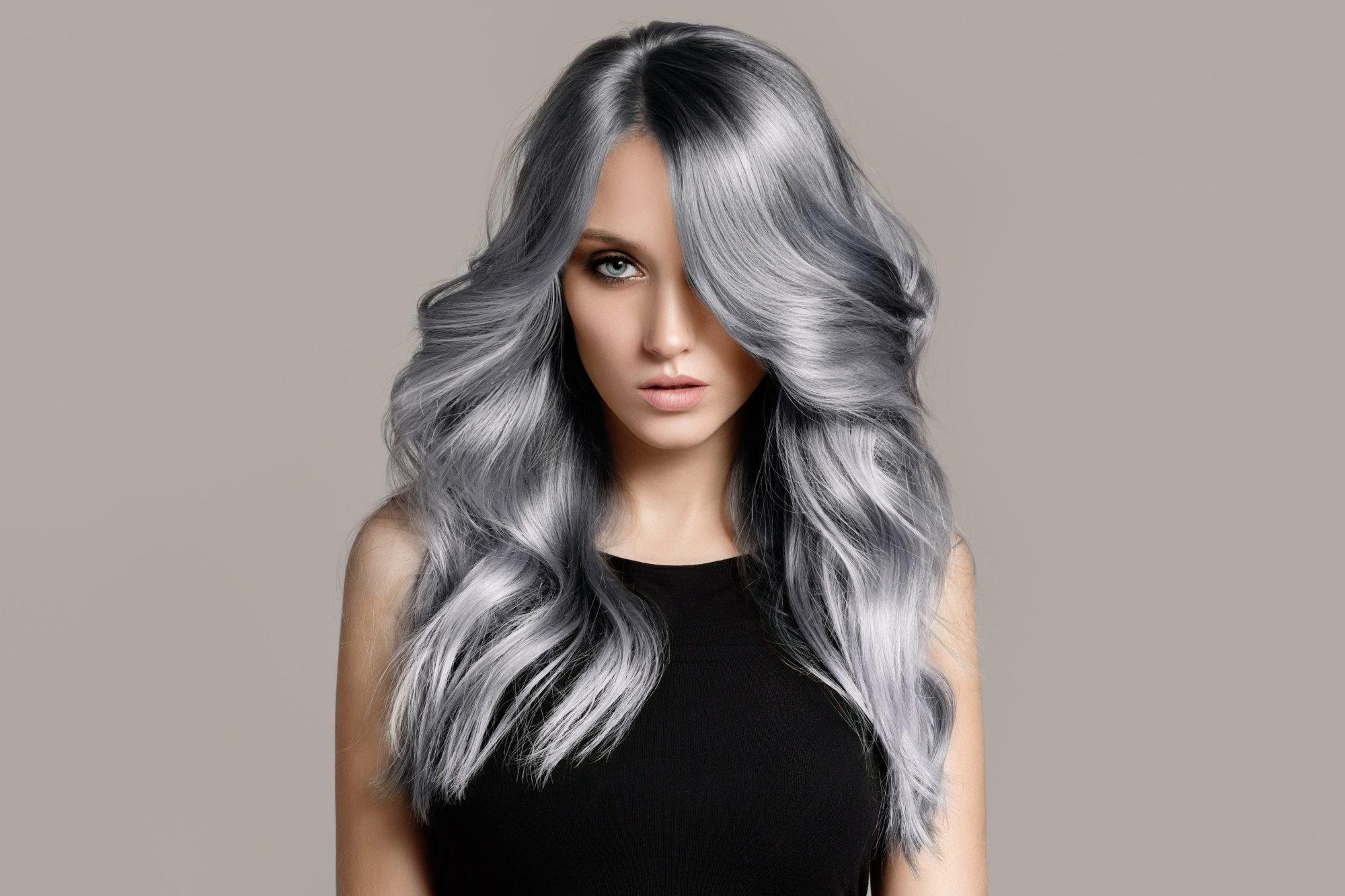 Style Ideas For Ash Grey Hair