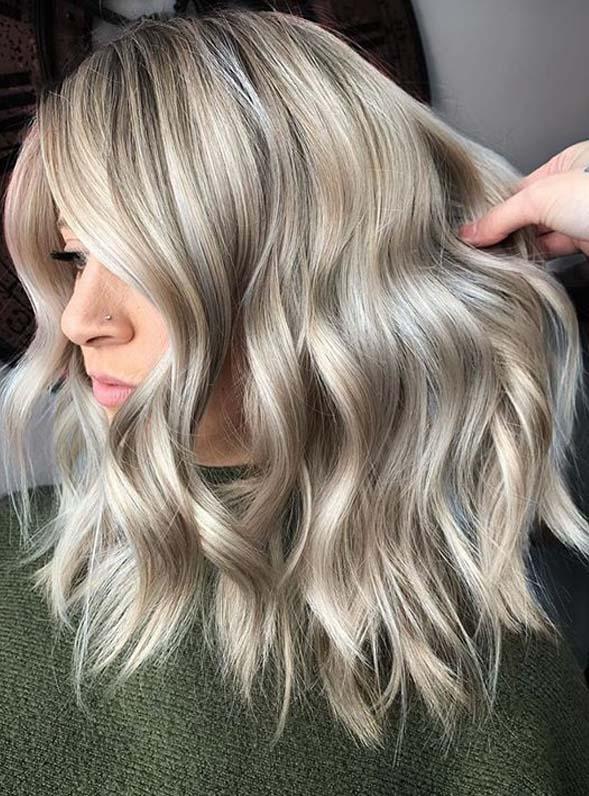 Cool Ash Hair Design Ideas
