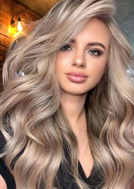 Hair Color Ideas – Beige Blonde Hair Color