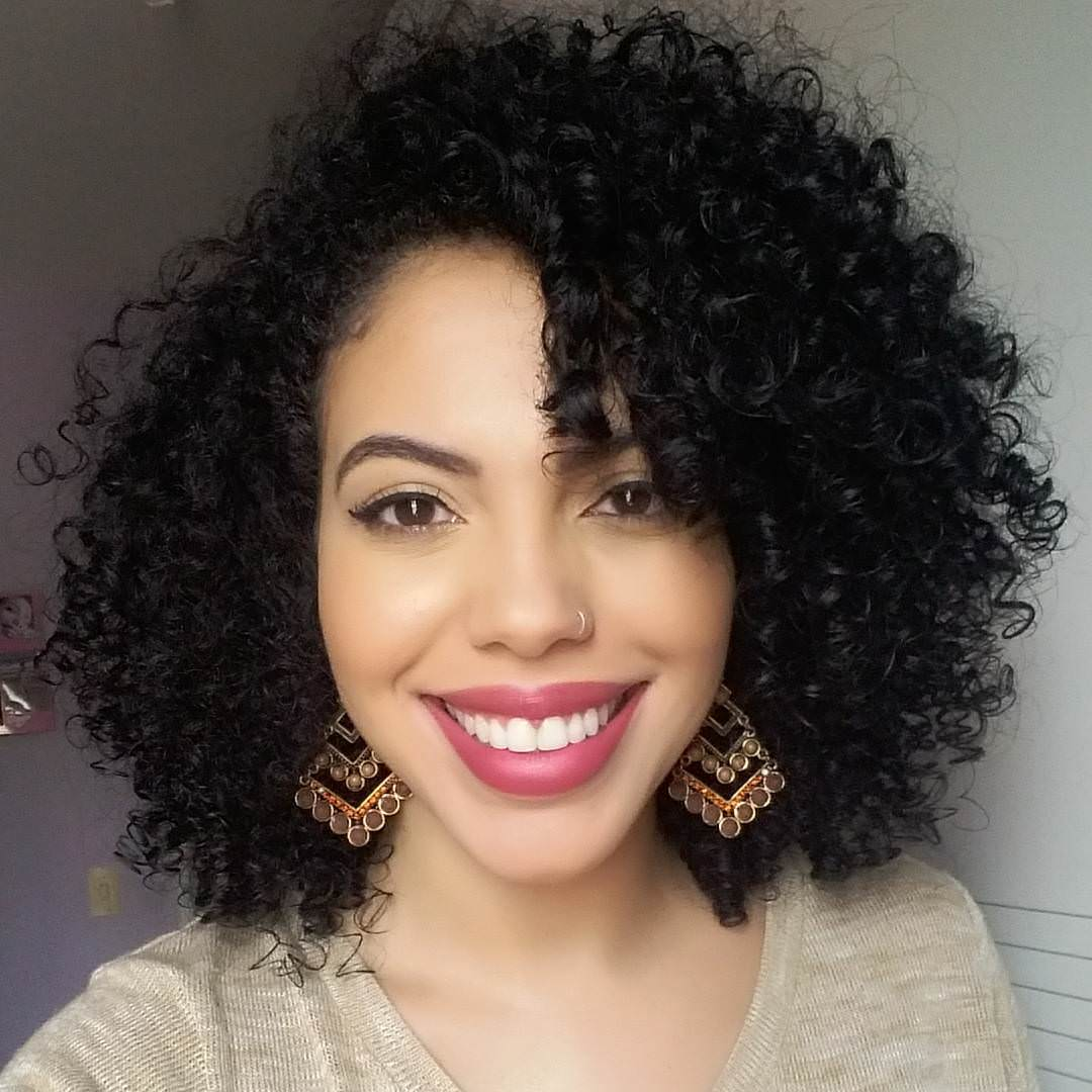 Black Curly Hairstyles Dressing Up For the Summer
